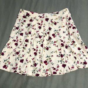 Skater skirt floral from forever 21